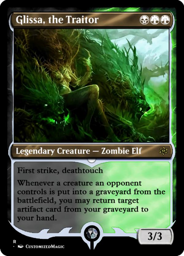Glissa the Traitor.9 - Magic the Gathering Proxy Cards