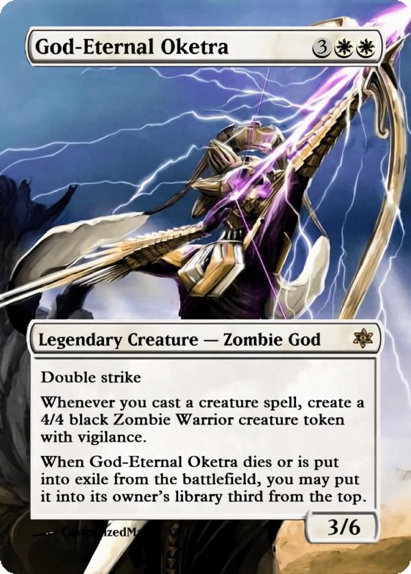 God Eternal Oketra.1 - Magic the Gathering Proxy Cards