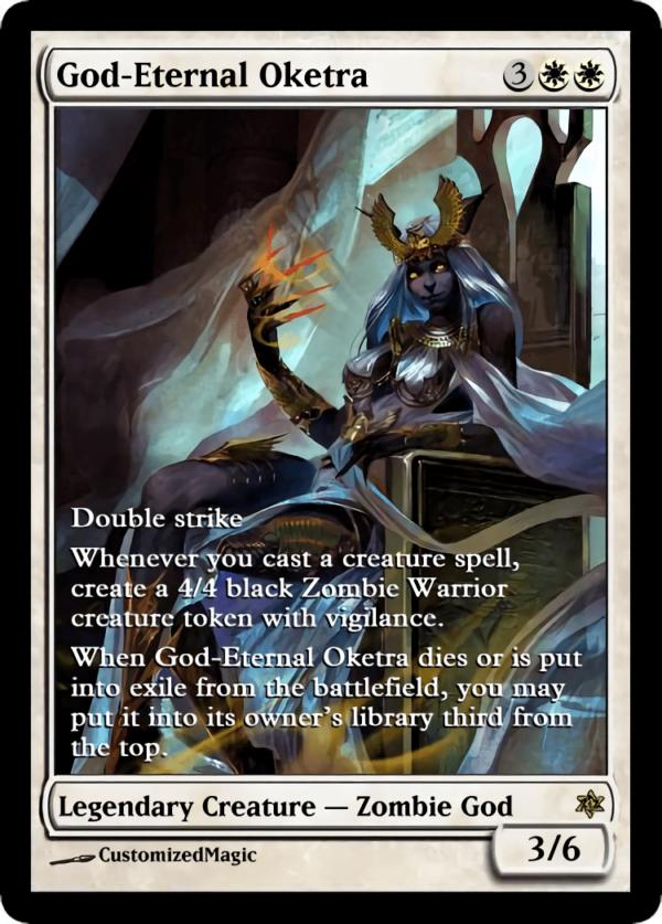 God Eternal Oketra.3 - Magic the Gathering Proxy Cards