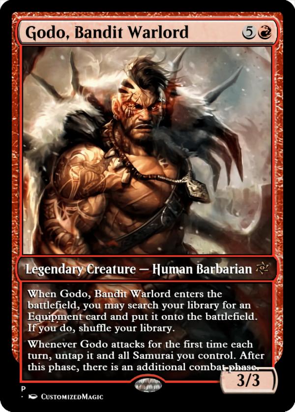 Godo Bandit Warlord.1 - Magic the Gathering Proxy Cards