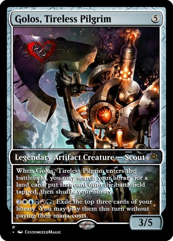 Golos Tireless Pilgrim.1 - Magic the Gathering Proxy Cards