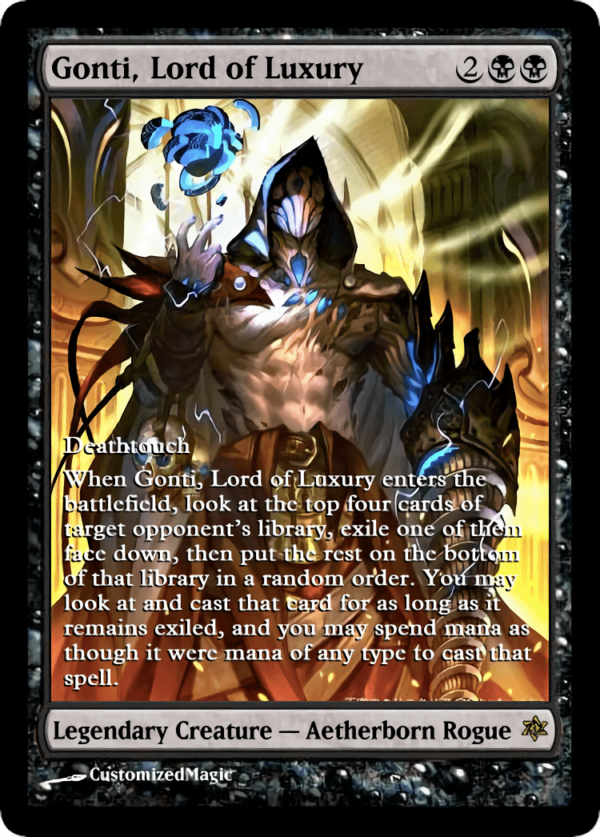 Gonti Lord of - Magic the Gathering Proxy Cards