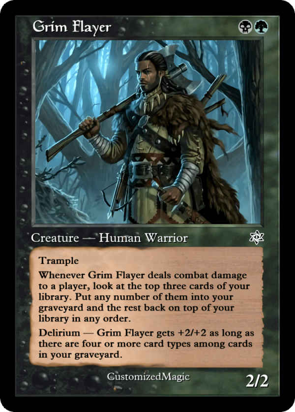 Grim Flayer.2 - Magic the Gathering Proxy Cards