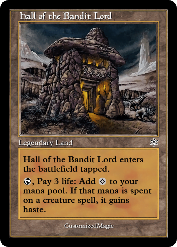 Hall of the Bandit Lord - Magic the Gathering Proxy Cards