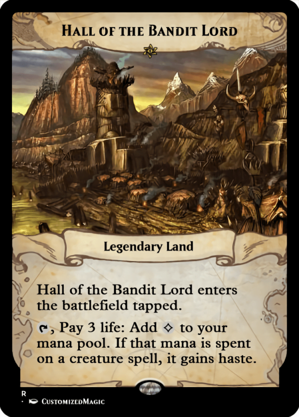 Hall of the Bandit Lord.4 - Magic the Gathering Proxy Cards