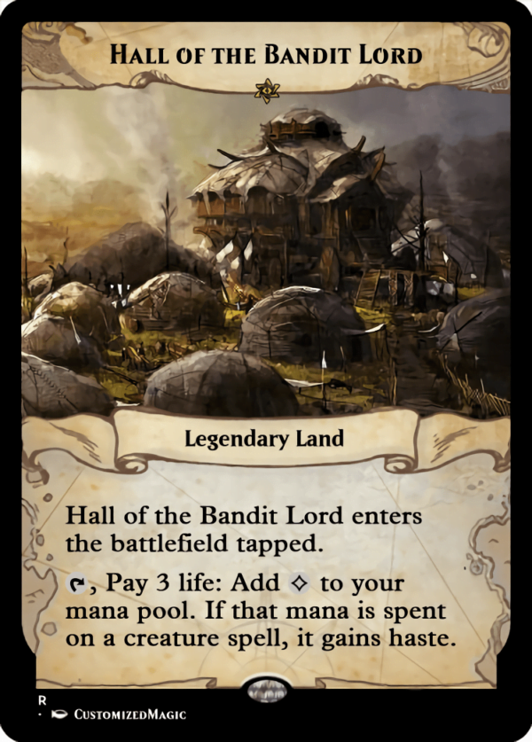 Hall of the Bandit Lord.5 - Magic the Gathering Proxy Cards