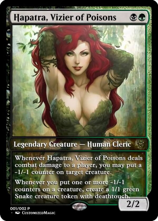 Hapatra Vizier of Poisons - Magic the Gathering Proxy Cards