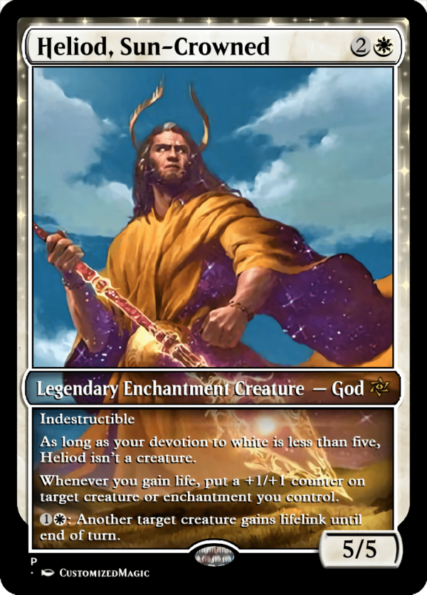 Heliod Sun Crowned - Magic the Gathering Proxy Cards