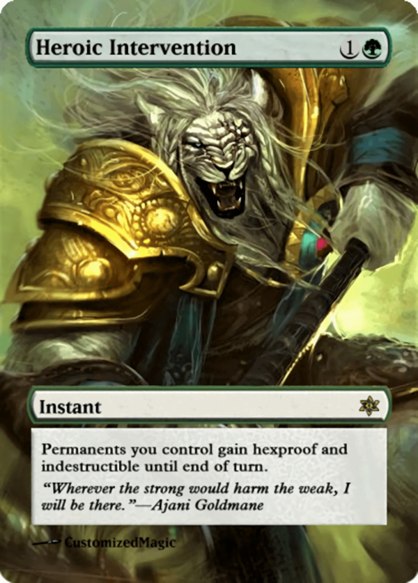 Heroic Intervention.11 - Magic the Gathering Proxy Cards