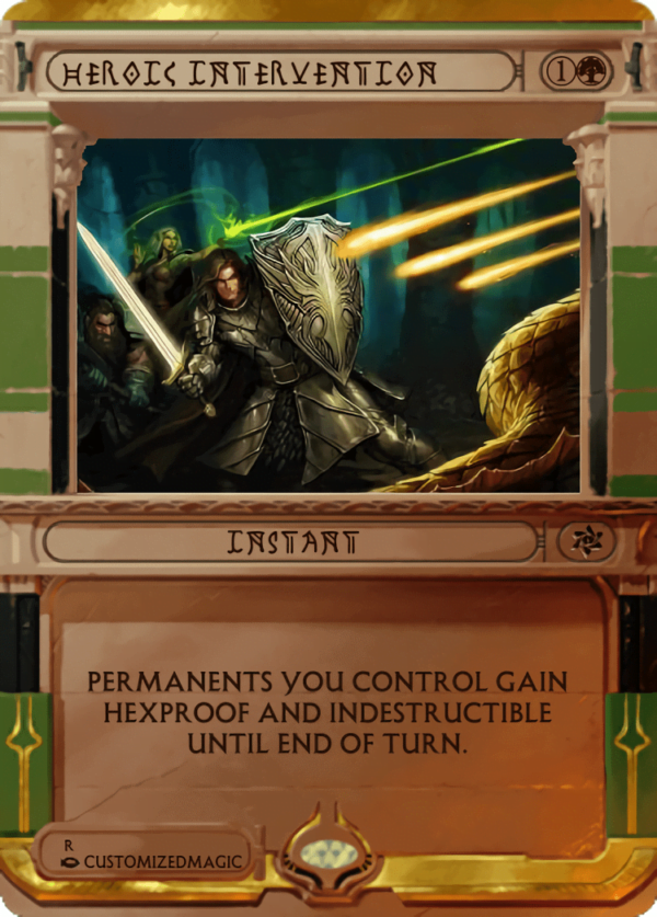 Heroic Intervention.3 - Magic the Gathering Proxy Cards