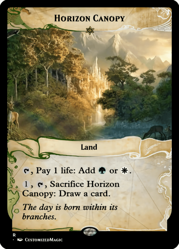 Horizon Canopy - Magic the Gathering Proxy Cards