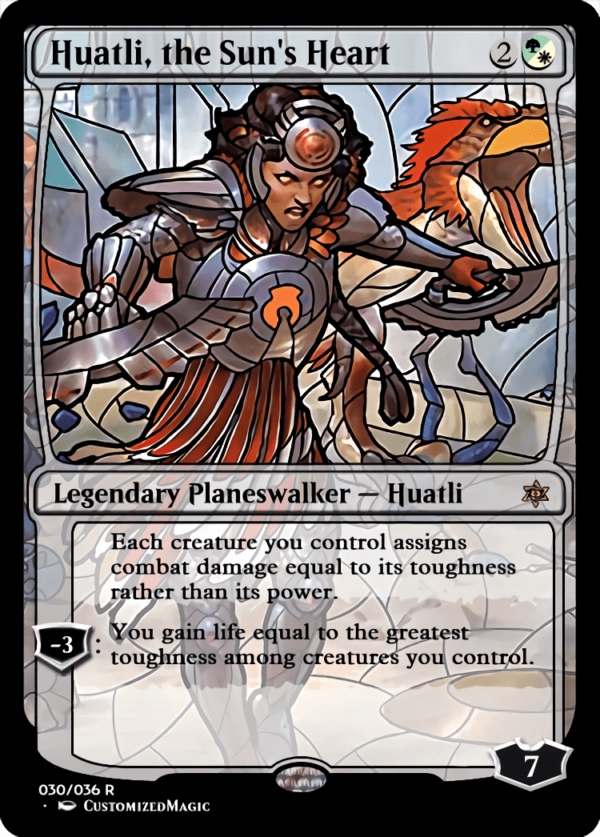 Huatli the Suns Heart 1 - Magic the Gathering Proxy Cards