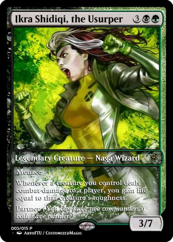 Ikra Shidiqi the Usurper - Magic the Gathering Proxy Cards