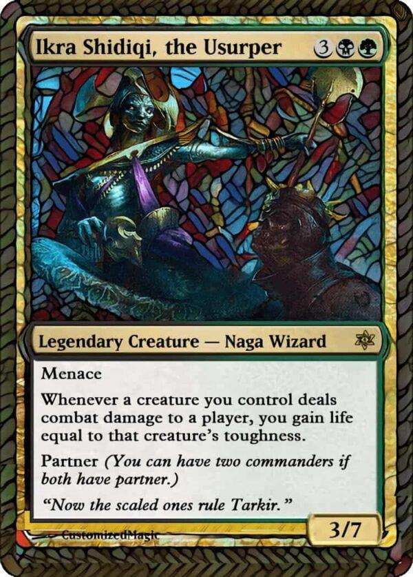 Ikra Shidiqi the - Magic the Gathering Proxy Cards