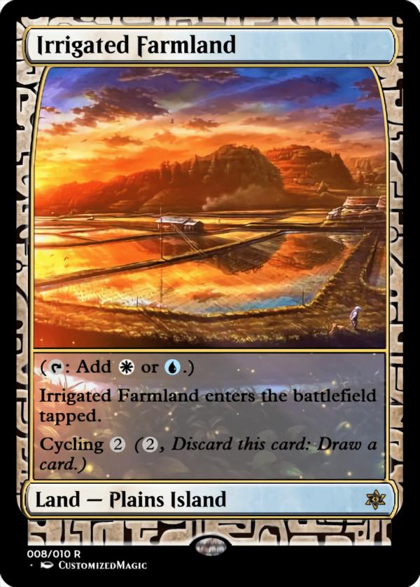 Irrigated Farmland - Magic the Gathering Proxy Cards