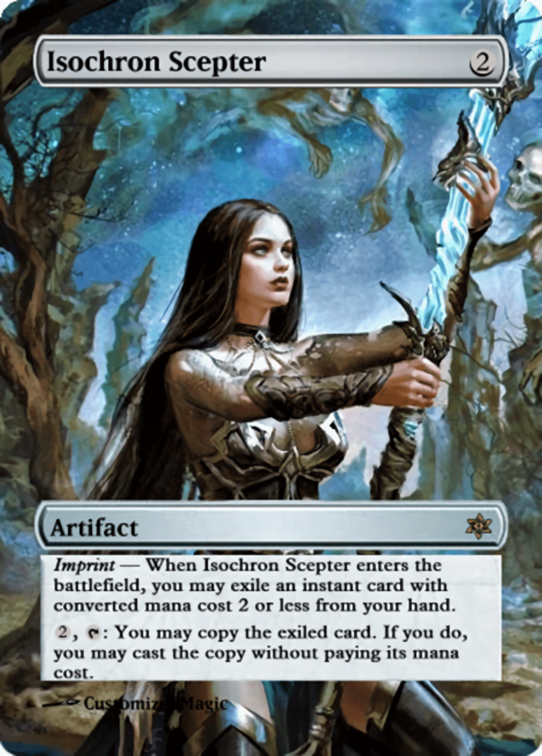 Isochron Scepter.12 - Magic the Gathering Proxy Cards