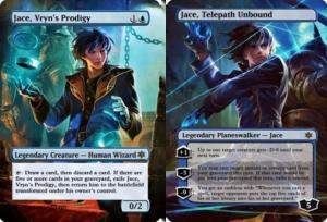 Jace, Vryns Prodigy and Jace, Telepath Unbound