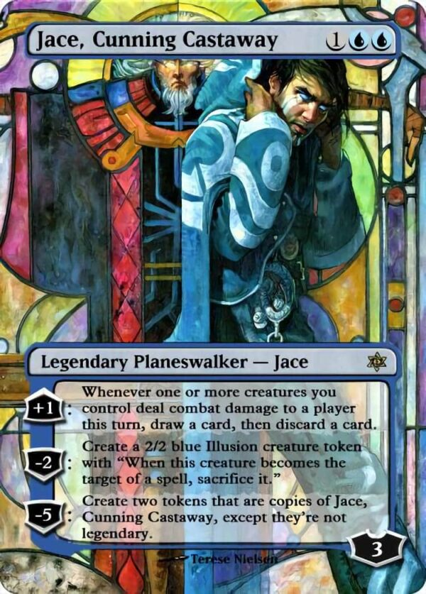 Jace Cunning Castaway - Magic the Gathering Proxy Cards