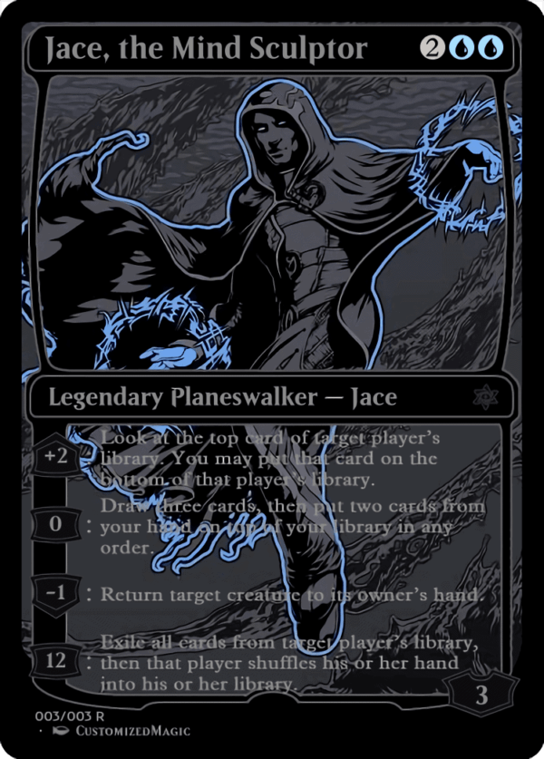 Jace the Mind Sculptor - Magic the Gathering Proxy Cards
