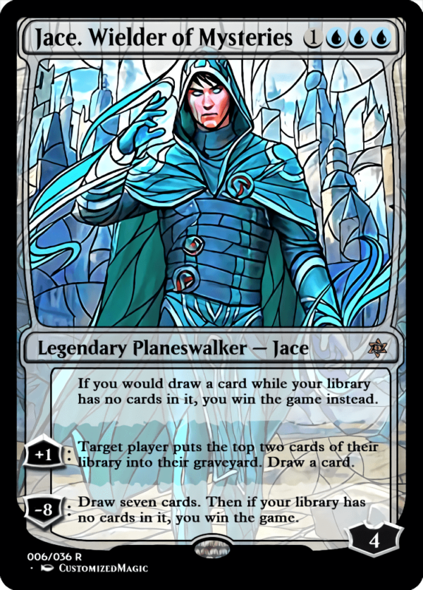 Jace. Wielder of Mysteries 1 - Magic the Gathering Proxy Cards