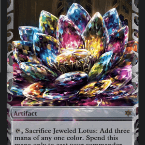 Jeweled Lotus