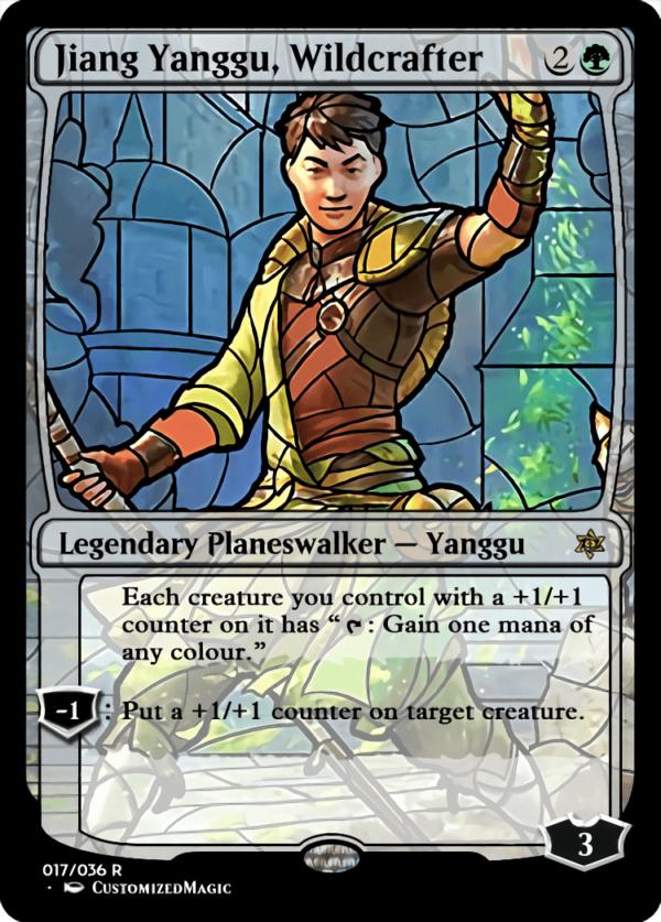 Jiang Yanggu Wildcrafter 1 - Magic the Gathering Proxy Cards