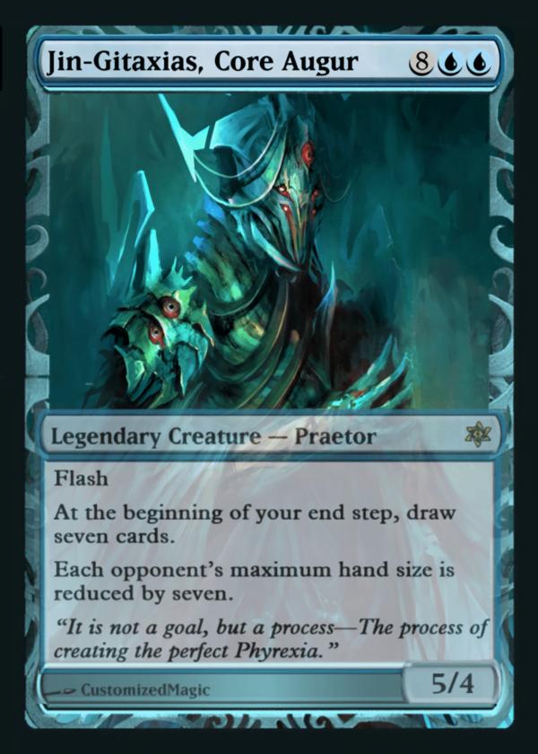 Jin Gitaxias Core Augur - Magic the Gathering Proxy Cards