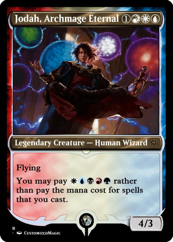 Jodah Archmage Eternal.2 - Magic the Gathering Proxy Cards