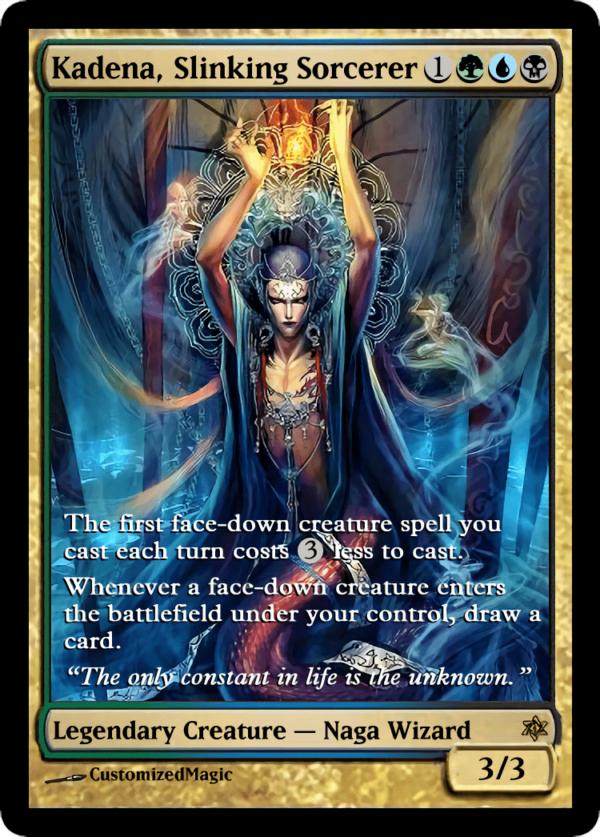 Kadena Slinking Sorcerer.3 - Magic the Gathering Proxy Cards