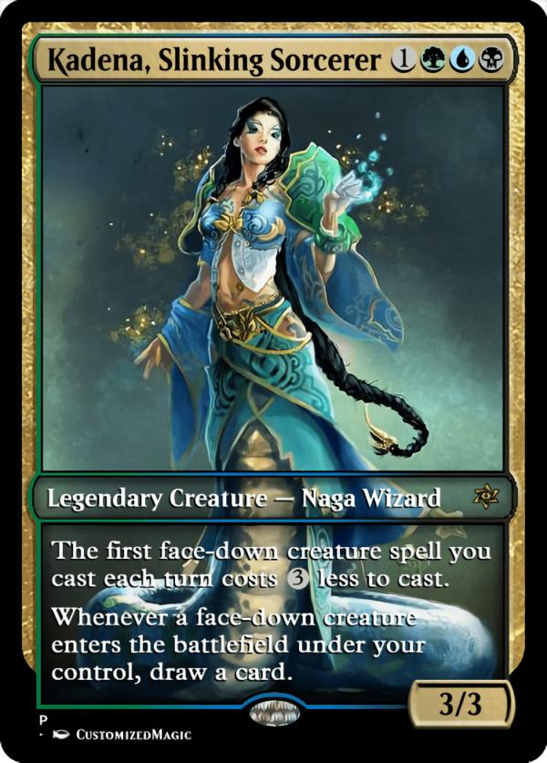 Kadena Slinking Sorcerer.5 - Magic the Gathering Proxy Cards