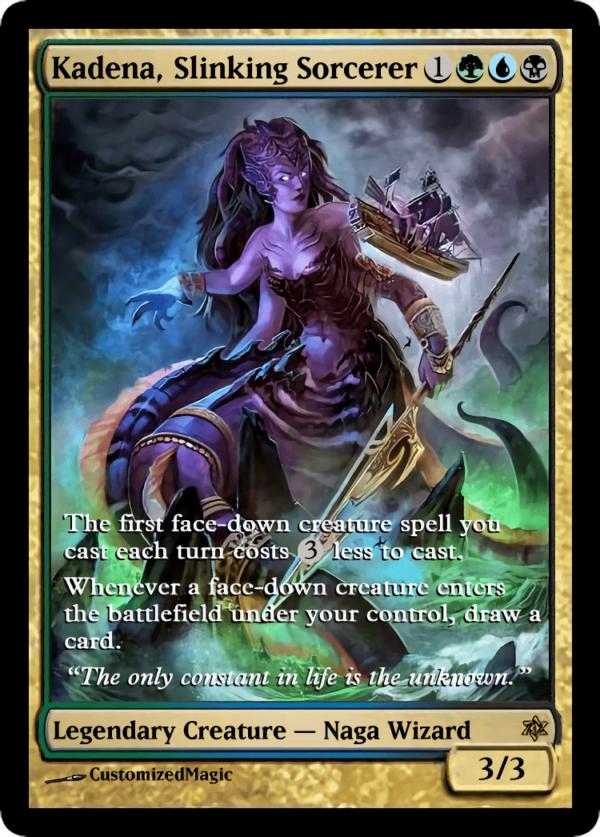 Kadena Slinking Sorcerer.7 - Magic the Gathering Proxy Cards