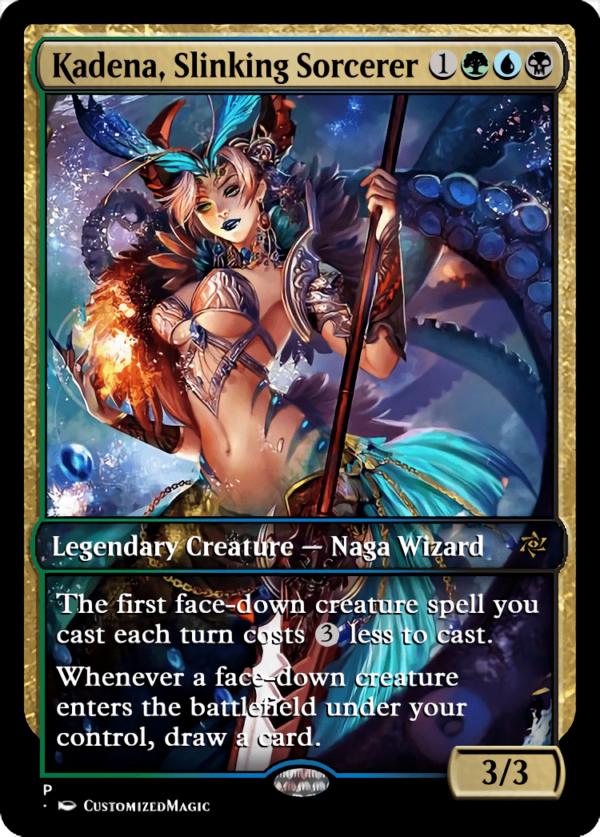 Kadena Slinking Sorcerer.8 - Magic the Gathering Proxy Cards