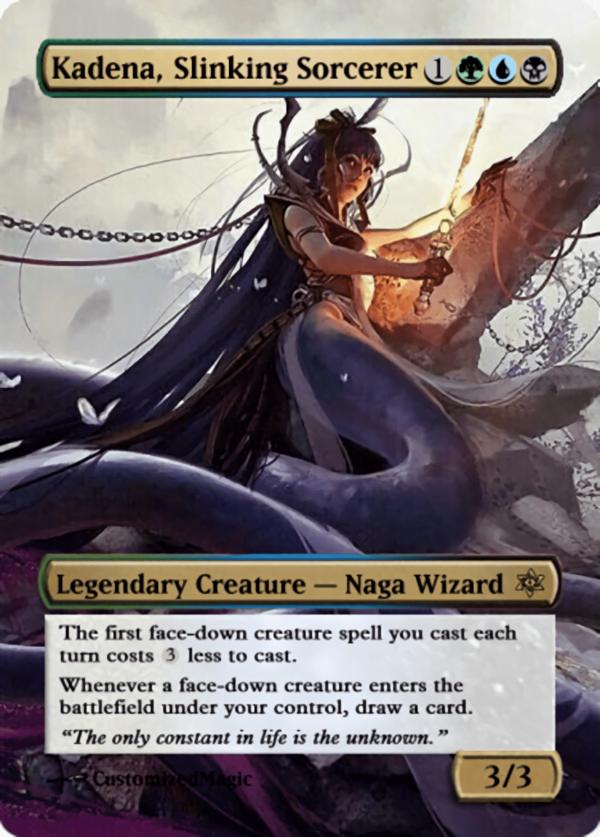 Kadena Slinking Sorcerer11 - Magic the Gathering Proxy Cards