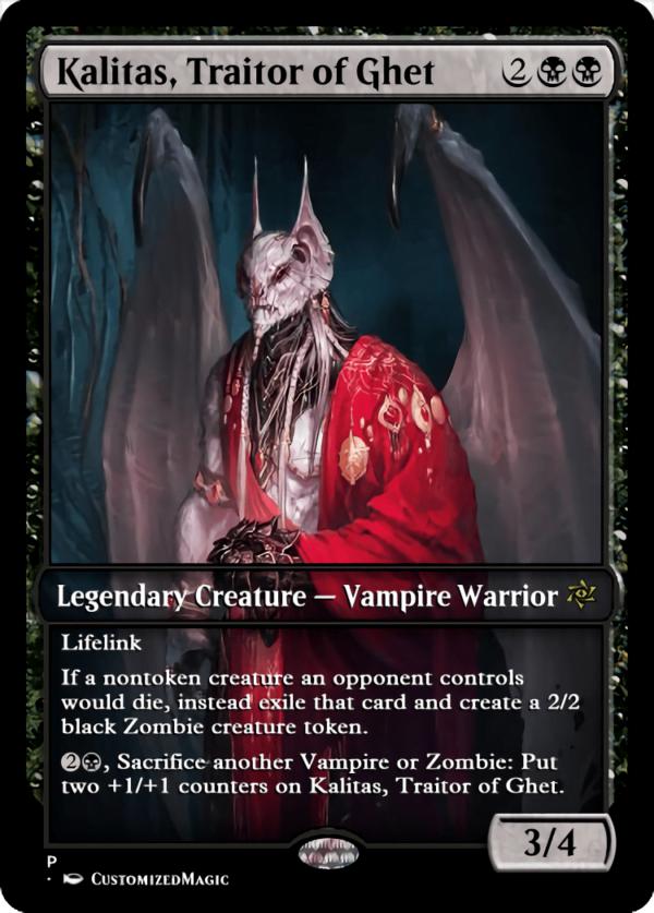 Kalitas Traitor of Ghet.2 - Magic the Gathering Proxy Cards