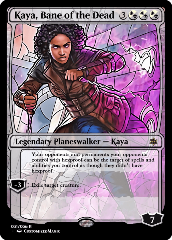 Kaya Bane of the Dead 1 - Magic the Gathering Proxy Cards