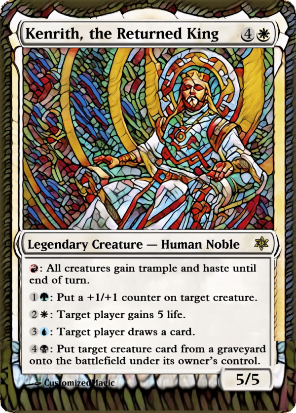 Kenrith the Returned King 21 - Magic the Gathering Proxy Cards