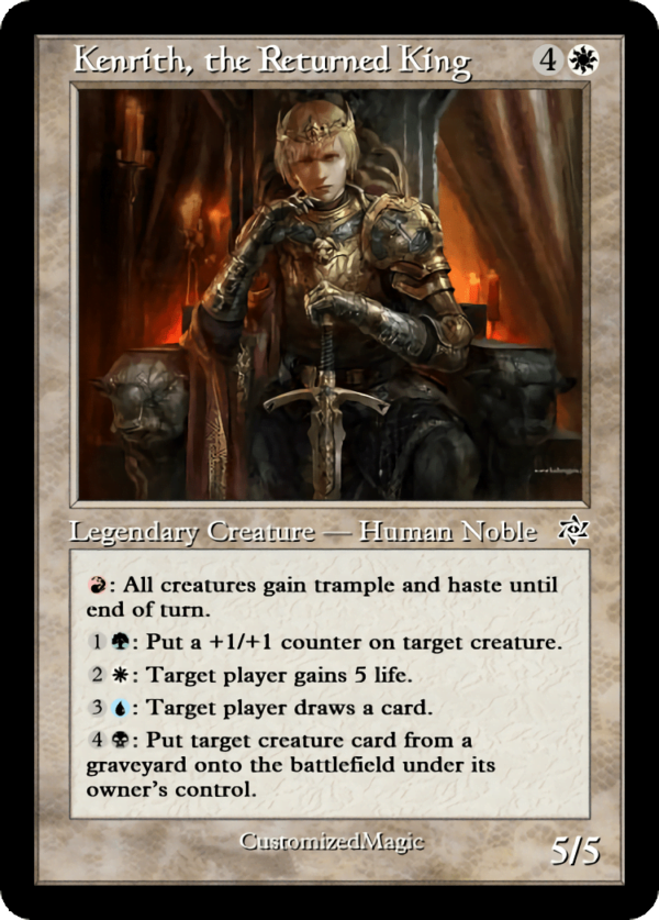 Kenrith the Returned King.1 - Magic the Gathering Proxy Cards
