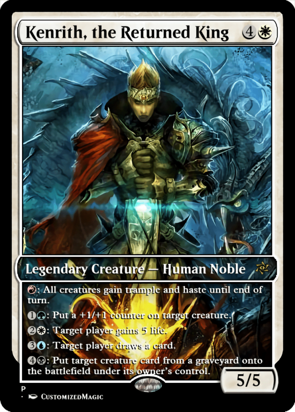 Kenrith the Returned King.4 - Magic the Gathering Proxy Cards
