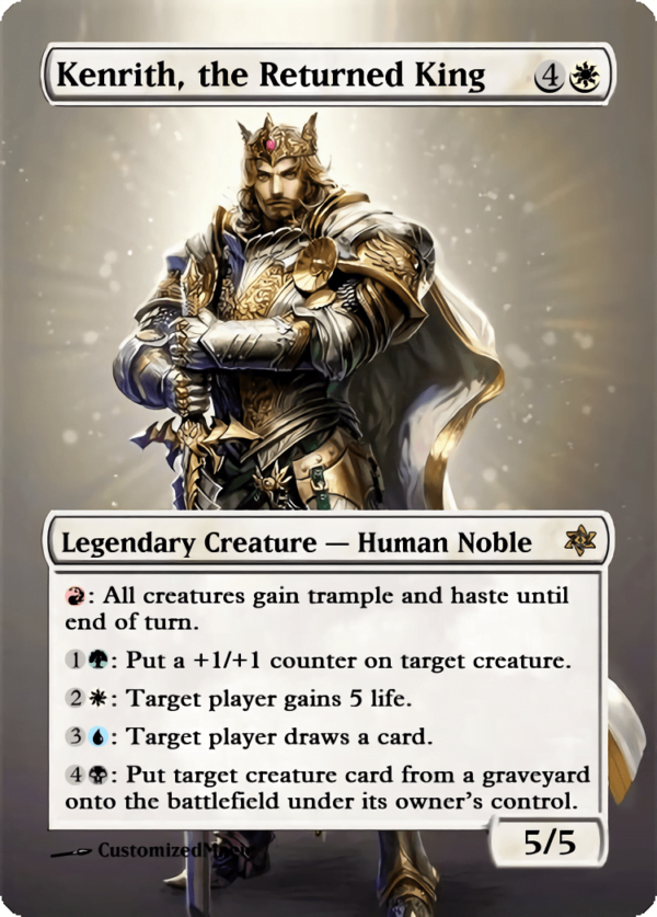 Kenrith the Returned King.6 - Magic the Gathering Proxy Cards