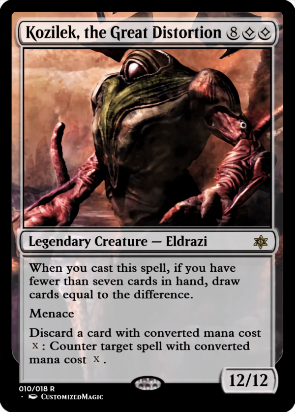 Kozilek the Great Distortion - Magic the Gathering Proxy Cards