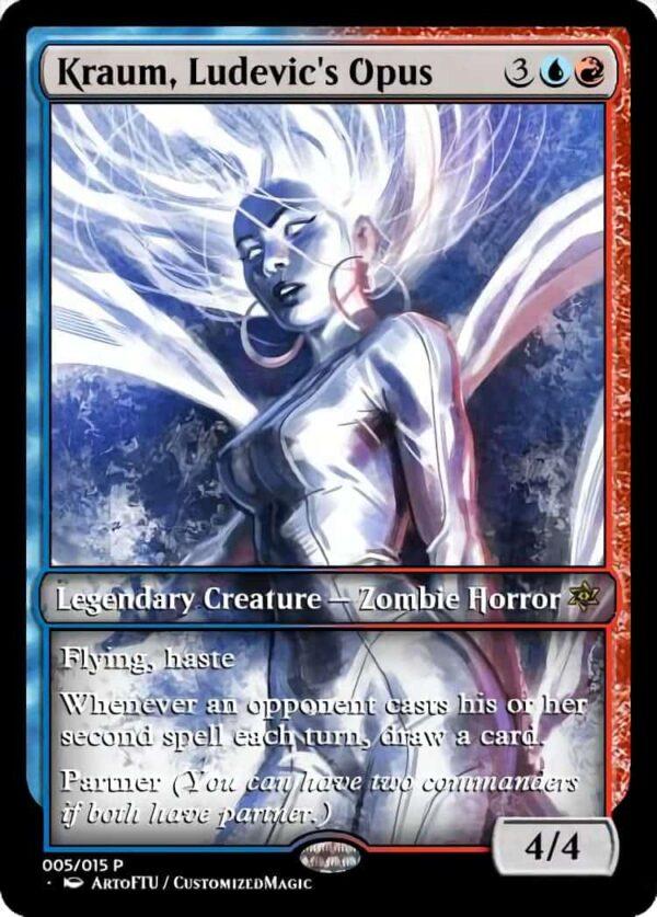 Kraum Ludevics Opus - Magic the Gathering Proxy Cards
