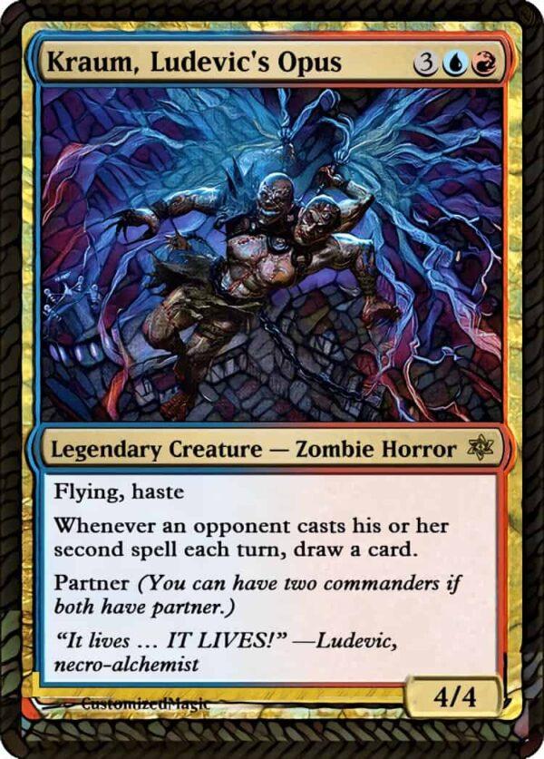 Kraum Ludevics - Magic the Gathering Proxy Cards