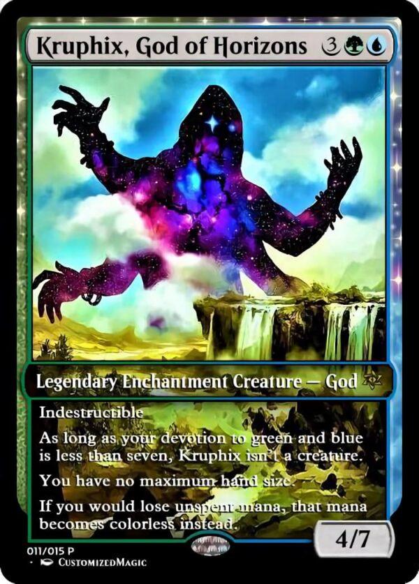 Kruphix God of Horizons - Magic the Gathering Proxy Cards