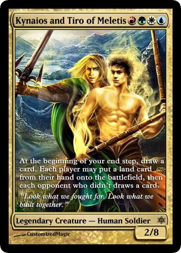 Kynaios and Tiro of Meletis 03 - Magic the Gathering Proxy Cards