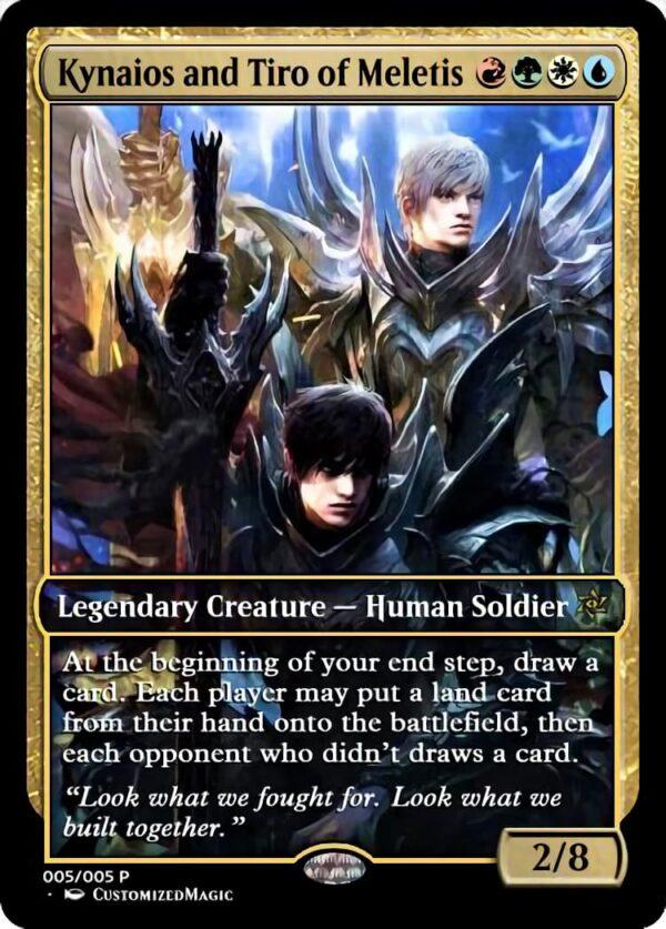 Kynaios and Tiro of Meletis 11 - Magic the Gathering Proxy Cards