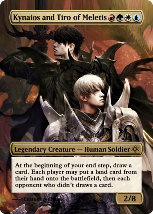 Kynaios and Tiro of Meletis - Magic the Gathering Proxy Cards