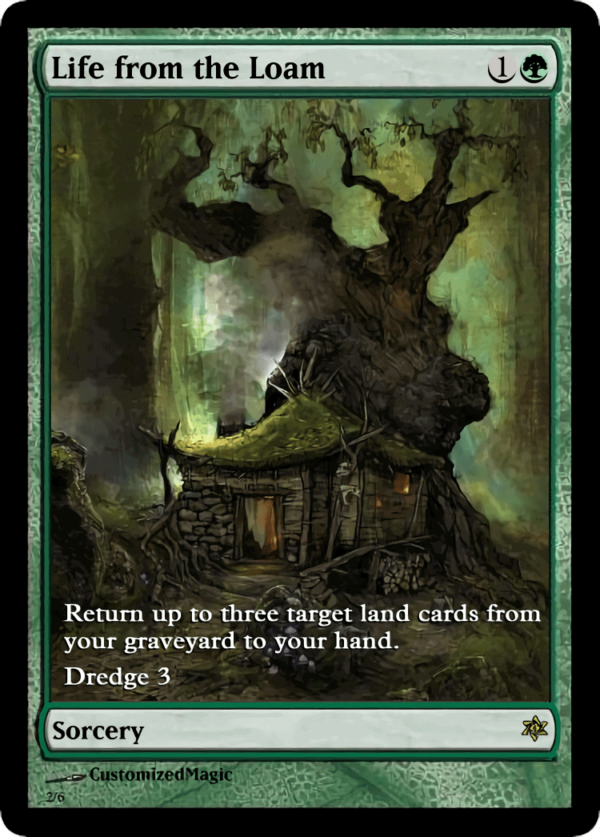 Life from the Loam.1 - Magic the Gathering Proxy Cards