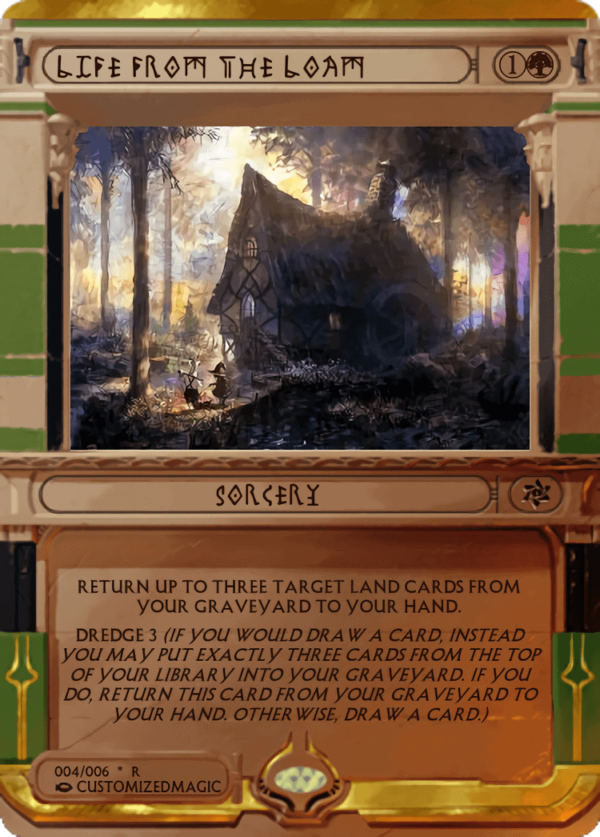 Life from the Loam.3 - Magic the Gathering Proxy Cards