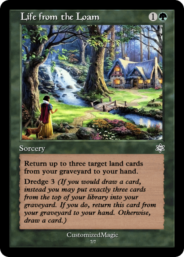 Life from the Loam.6 - Magic the Gathering Proxy Cards