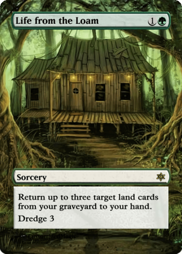 Life from the Loam.7 - Magic the Gathering Proxy Cards